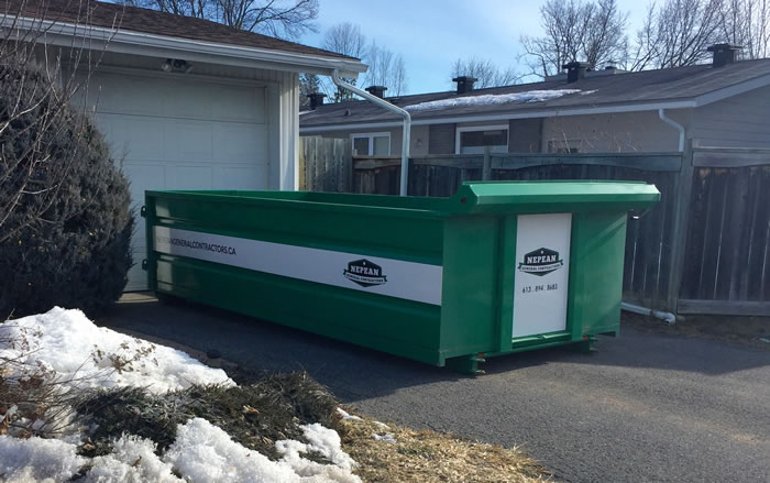Roll Off Dumpster Bin Rentals Nepean and Ottawa