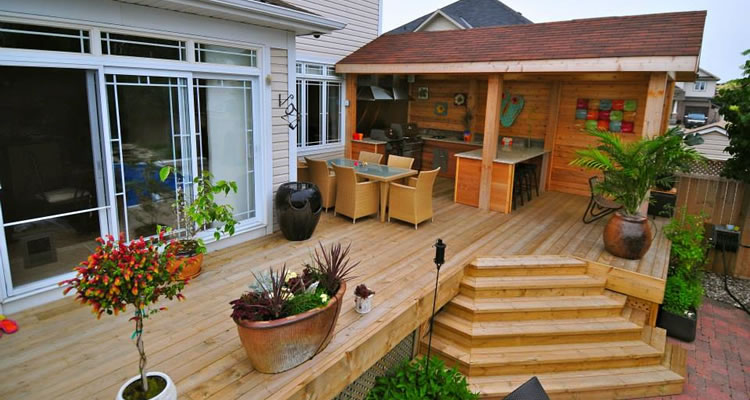 Wood Deck Construction Nepean and Ottaw ON