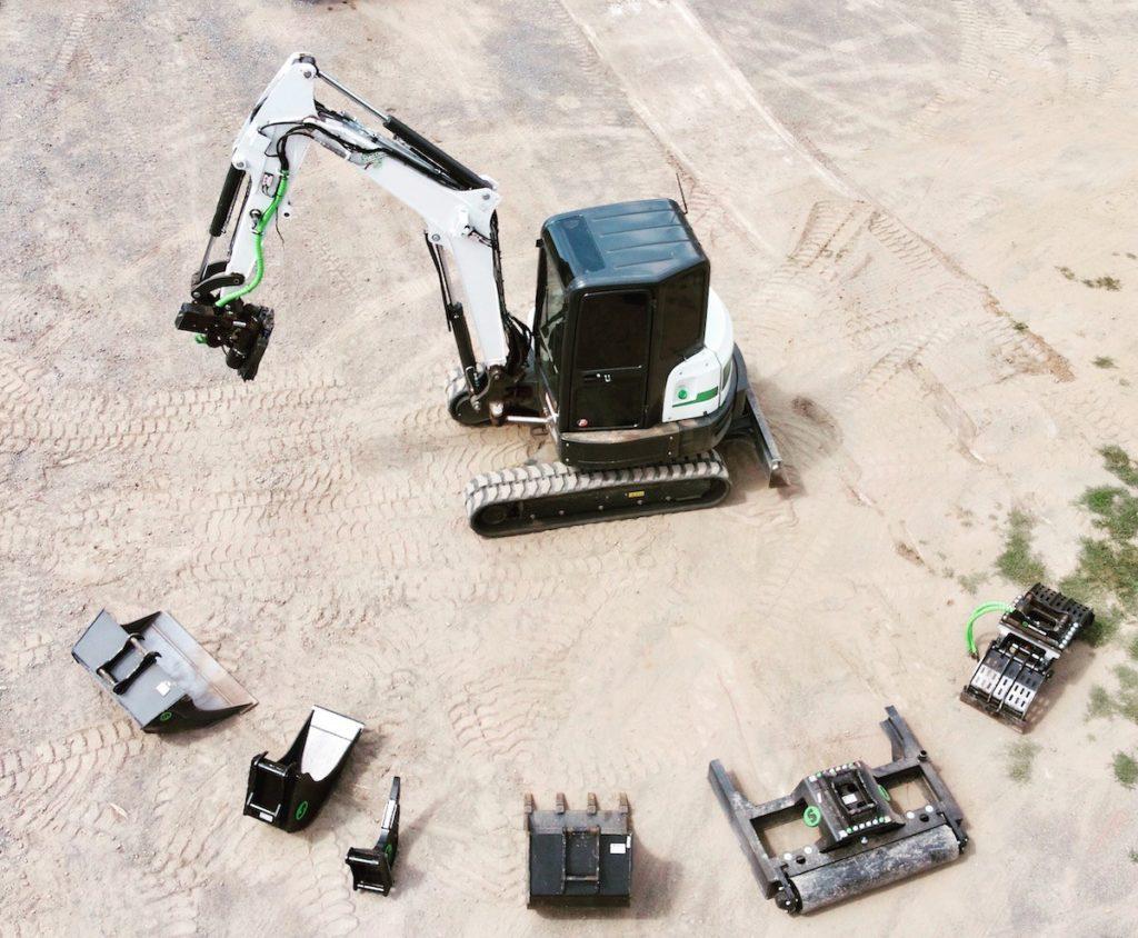 Tilt Rotator Excavator Service Ottawa and Nepean