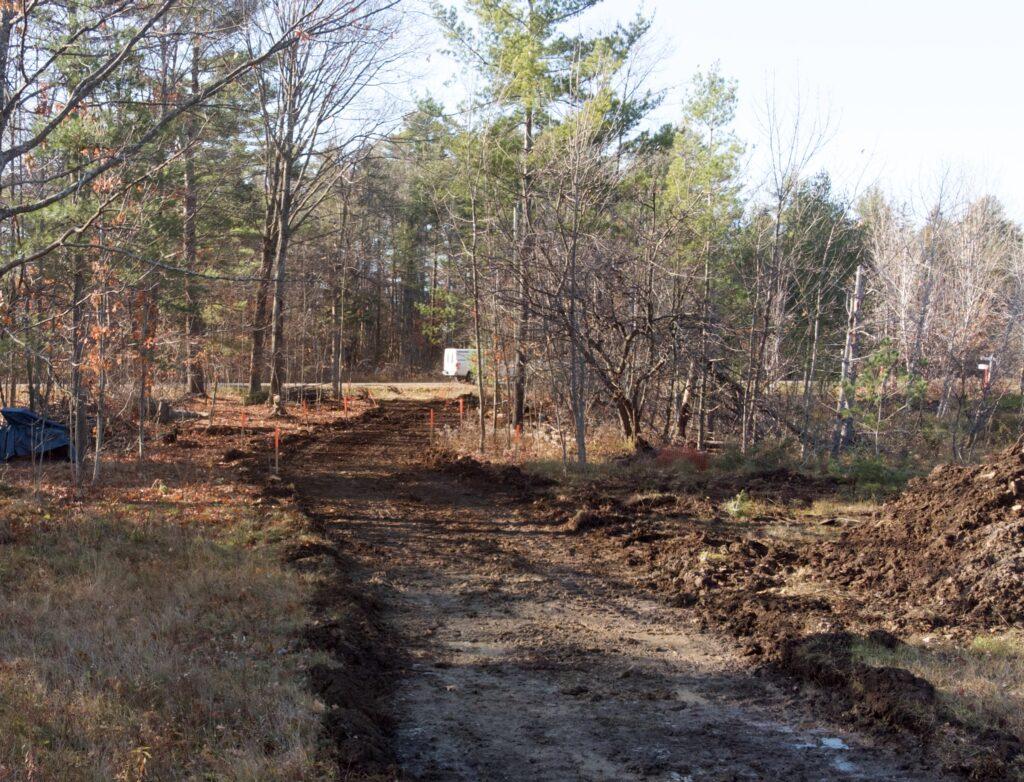 Dunrobin Driveway construction