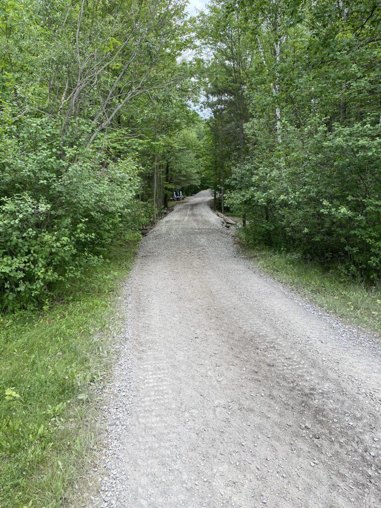 Gravel laneway in Carp